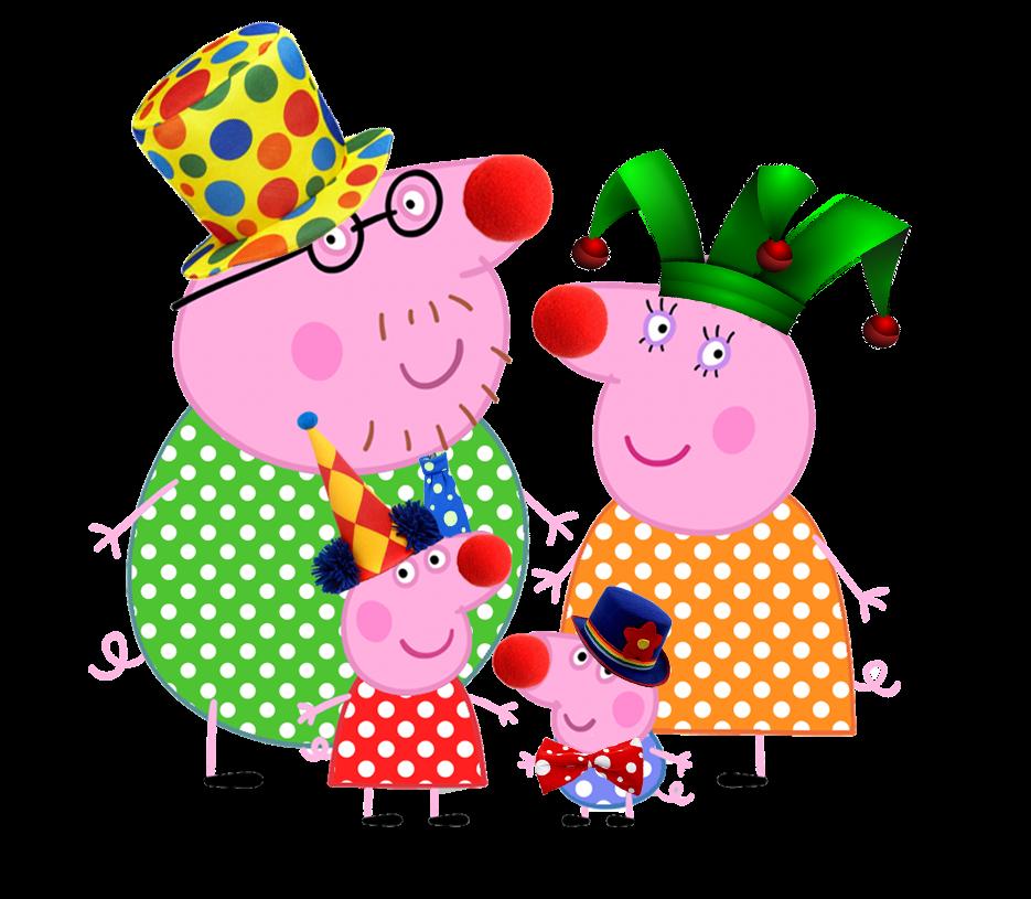 Cartoon Characters: Peppa Pig (PNG's