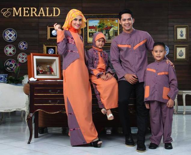 Model Busana Muslim Pesta Keluarga Terbaru
