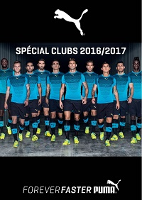 Catalogue Puma Club 2016-2017 Football
