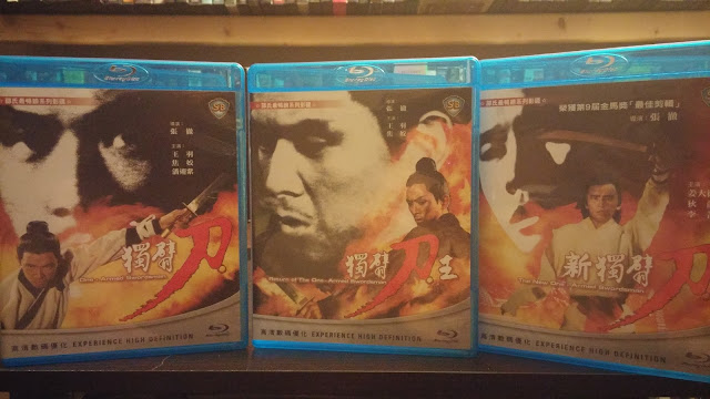 The One-Armed Swordsman Trilogy from Hong Kong