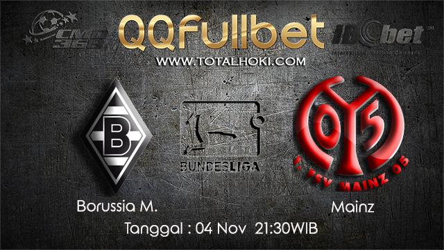 PREDIKSIBOLA - PREDIKSI TARUHAN BOLA MONCHENGLADBACH VS MAINZ 04 NOVEMBER 2017 (BUNDESLIGA)