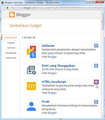 Cara Membuat Iklan Melayang Di Kanan Kiri Blog Terbaru