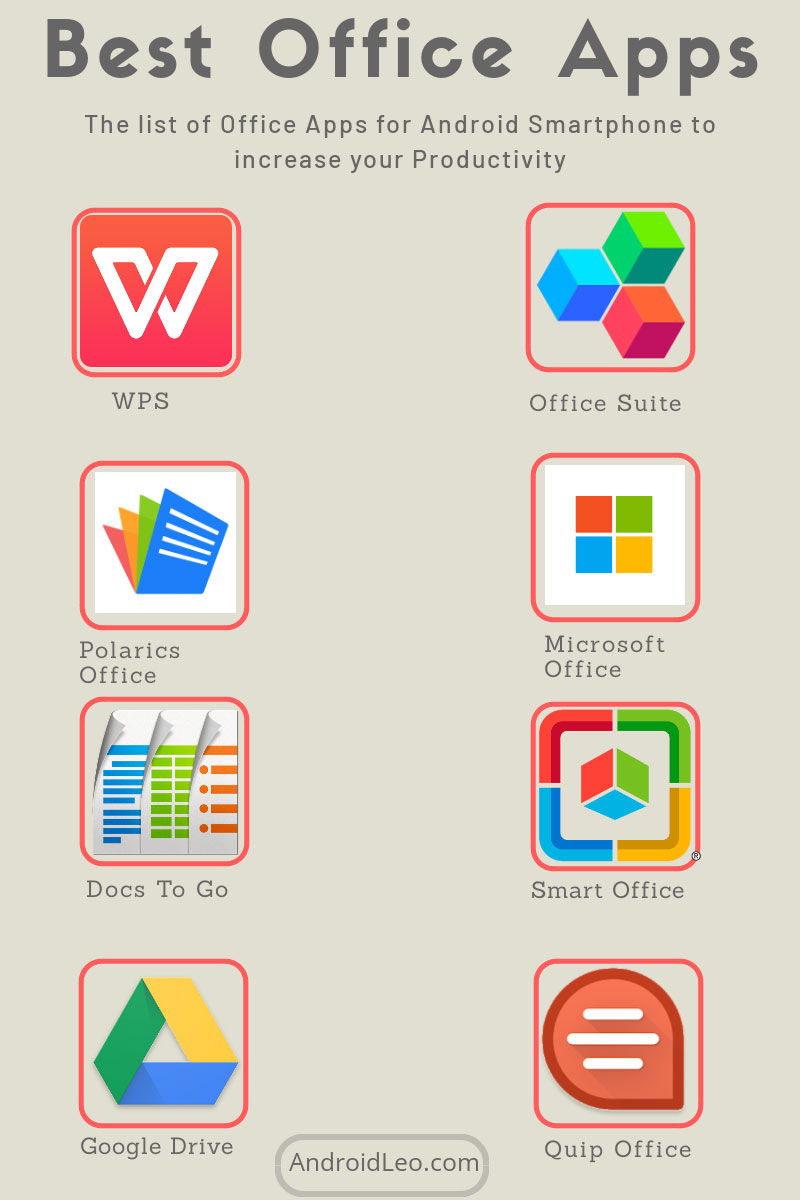 Best 9 office suite apps for android to increase your productivity in 2019 androidleo - Free office apps for android ...