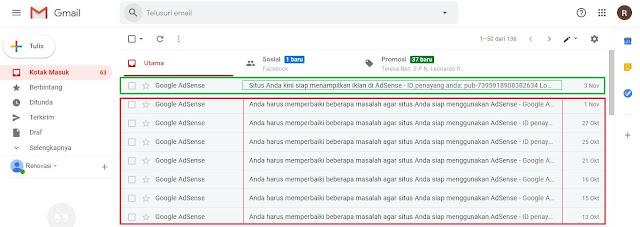 Tips agar diterima AdSense