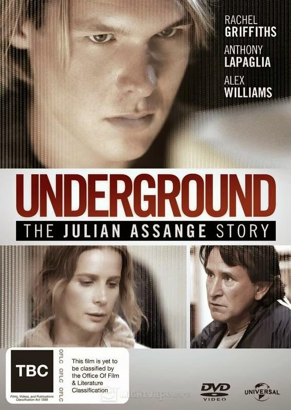 Underground: A História de Julian Assange – AVI Dual Áudio + RMVB Dublado