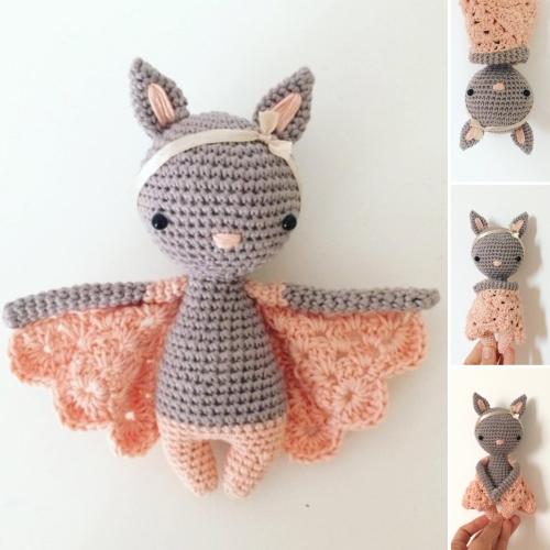 Chloe The Bat - Amigurumi Pattern