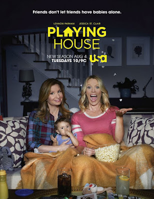Playing House TV Series Poster
