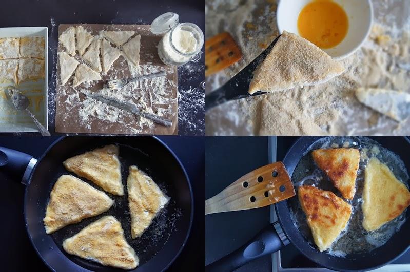 das spanische Original Rezept für Leche Frita