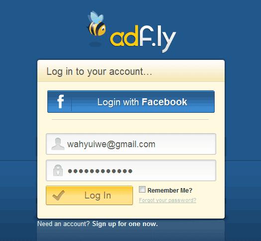 Cara Gampang Mendapatkan Uang Online dari ADF.LY