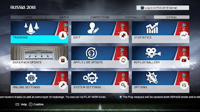 PES 2018 PS3 Next Level Patch v3.2 [ BLES ] World Cup 2018 Edition
