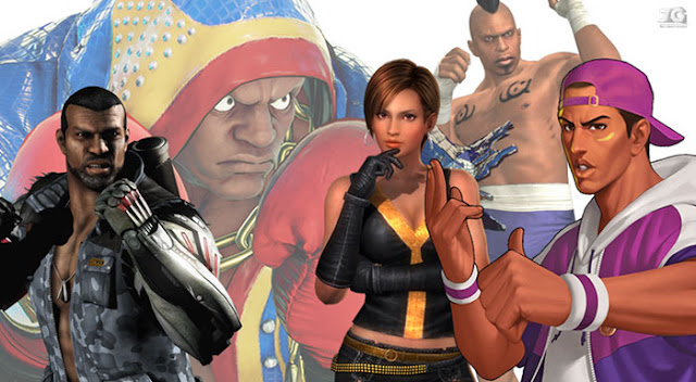 African american characters in fighting games