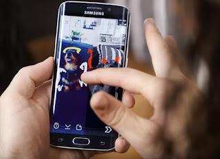 Cómo poner un filtro Snapchat en la mitad de tu foto