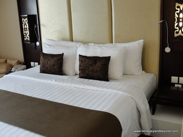 guest room at Swiss-Belresort Watu Jimbar in Sanur, Bali, Indonesia