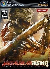 metal gear rising revengeance pc game cover Metal Gear Rising Revengeance RELOADED