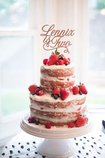naked-victoria-sponge-strawberry-shortcake-wedding-cake-with-laser-cut-cake-topper