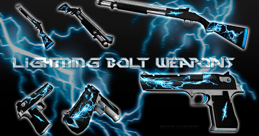 Lightning Bolt Weapons