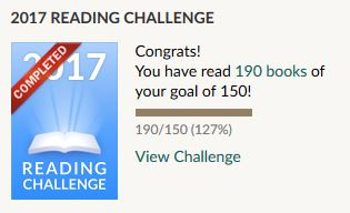 Goodreads - 2017 Reading Challenge #4