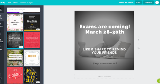 How to Use Canva to Promote School Events