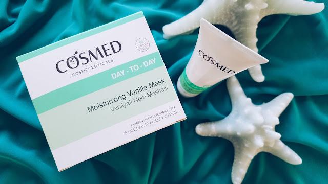 Cosmed Day-To-Day Serisi Vanilyalı Nem Maskesi ve Ultra Nemlendirici&Besleyici Krem