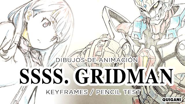 dibujos del anime SSSS Gridman 2018