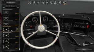 Vabis Steering Wheel for Scania RJL & T