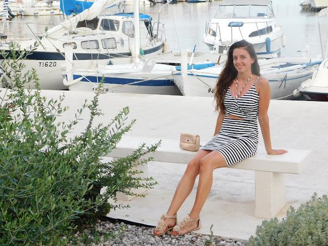 stripes, prugice, pruge, haljina, dress, summer dress, haljina za more, sea, more, vacation