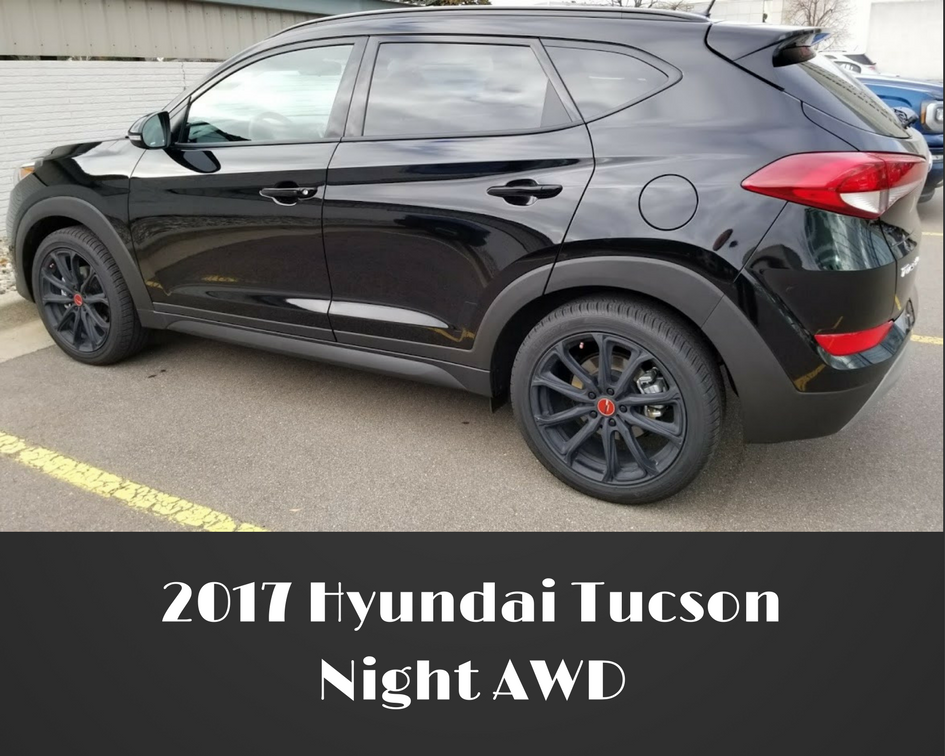 2017 Hyundai Tucson Night AWD SUV