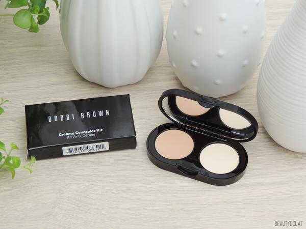 revue avis test bobbi brown creamy concealer kit