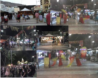 Mercado medieval de Aguadulce