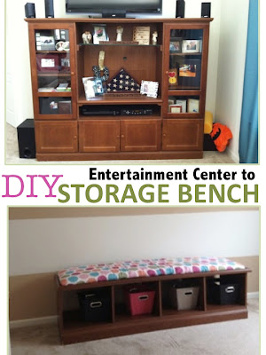 Two It Yourself Entertainment Center To Diy Storage Bench