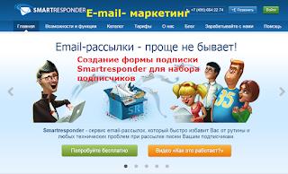 Организуйте E-mail рассылки с блога