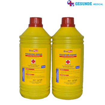 betadine antiseptic solution larutan 1 liter