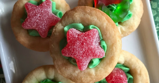 Cream Cheese Cookie Cups #ChristmasCookies