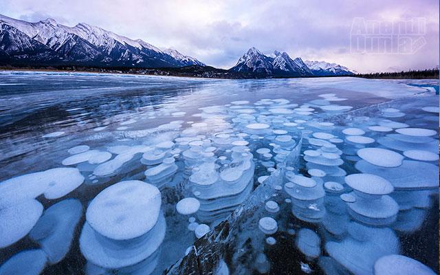 Danau Abraham, Kanada