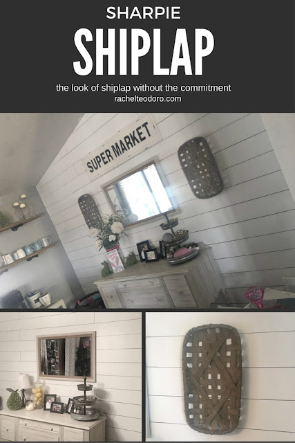 fixer upper, shiplap, DIY, faux shiplap, chip and joanna gaines