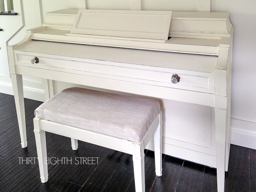 how to paint piano with chalk paint, chalk paint, painting pianos, painted piano ideas, diy painting pianos