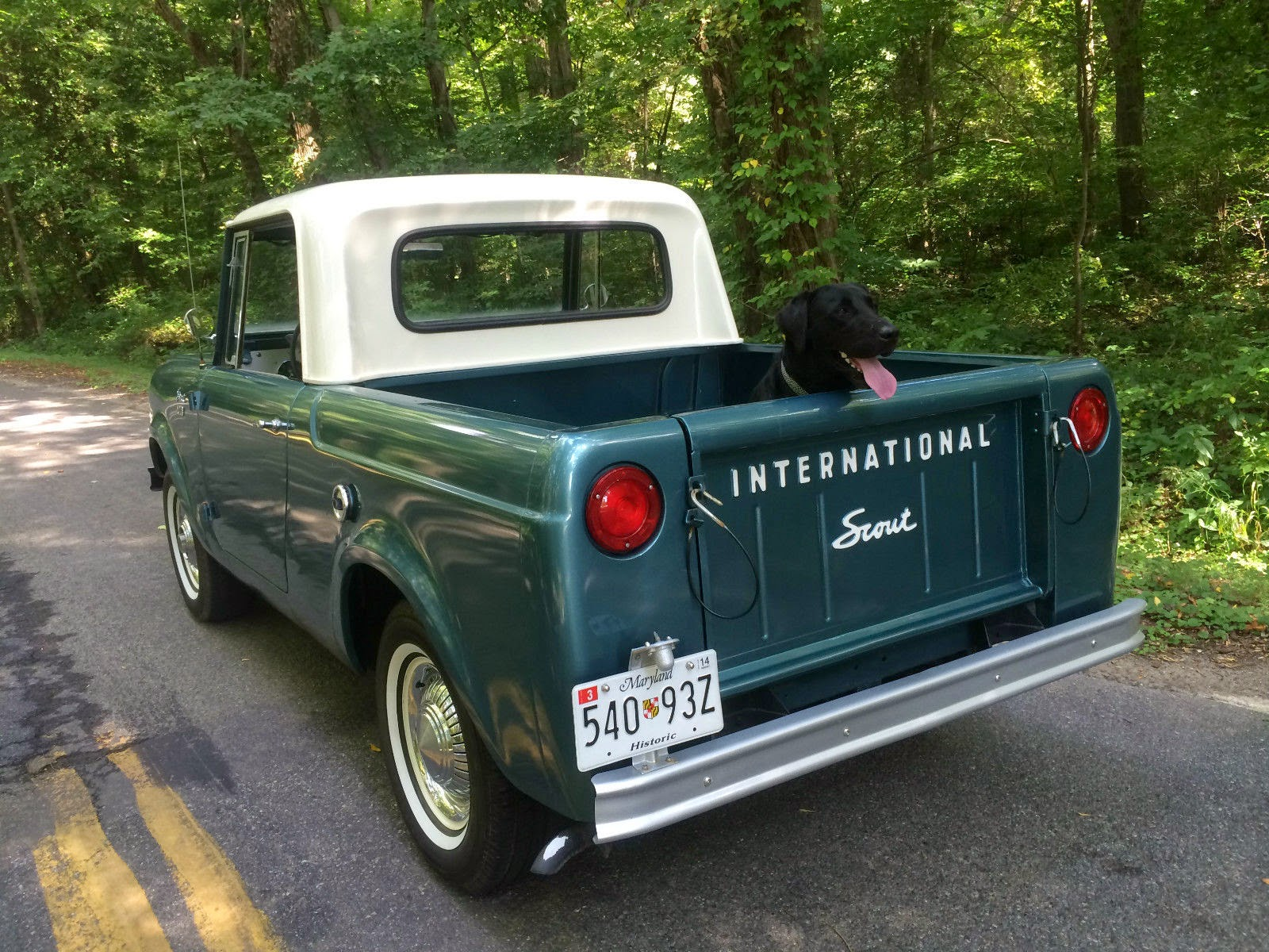 1965 International Scout 80 4x4 Pickup Truck | Auto ...
