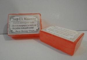 Makincantik Shop Sabun Uv Whitening Soap Orange Walet