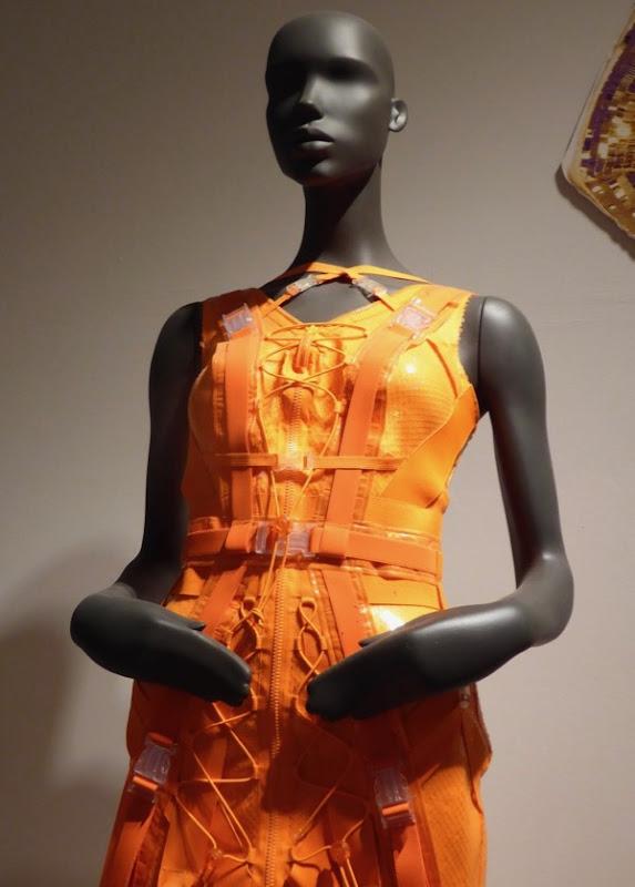 RuPauls Drag Race orange gown