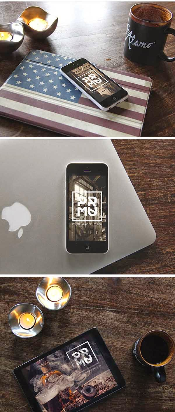 Iphone & Ipad Foto-MockUps