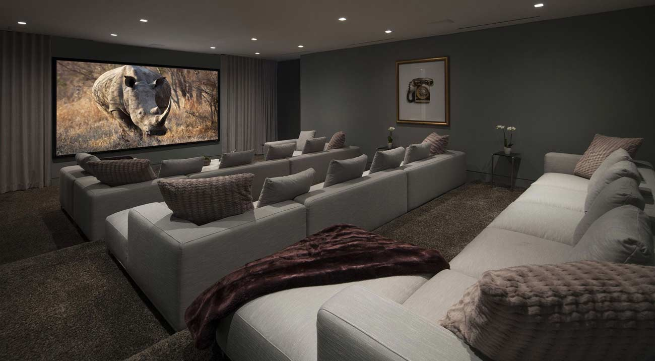 Home Theater Room Decorating Ideas Part - 33: Top 25 Home Theater Room Decor Ideas And Designs