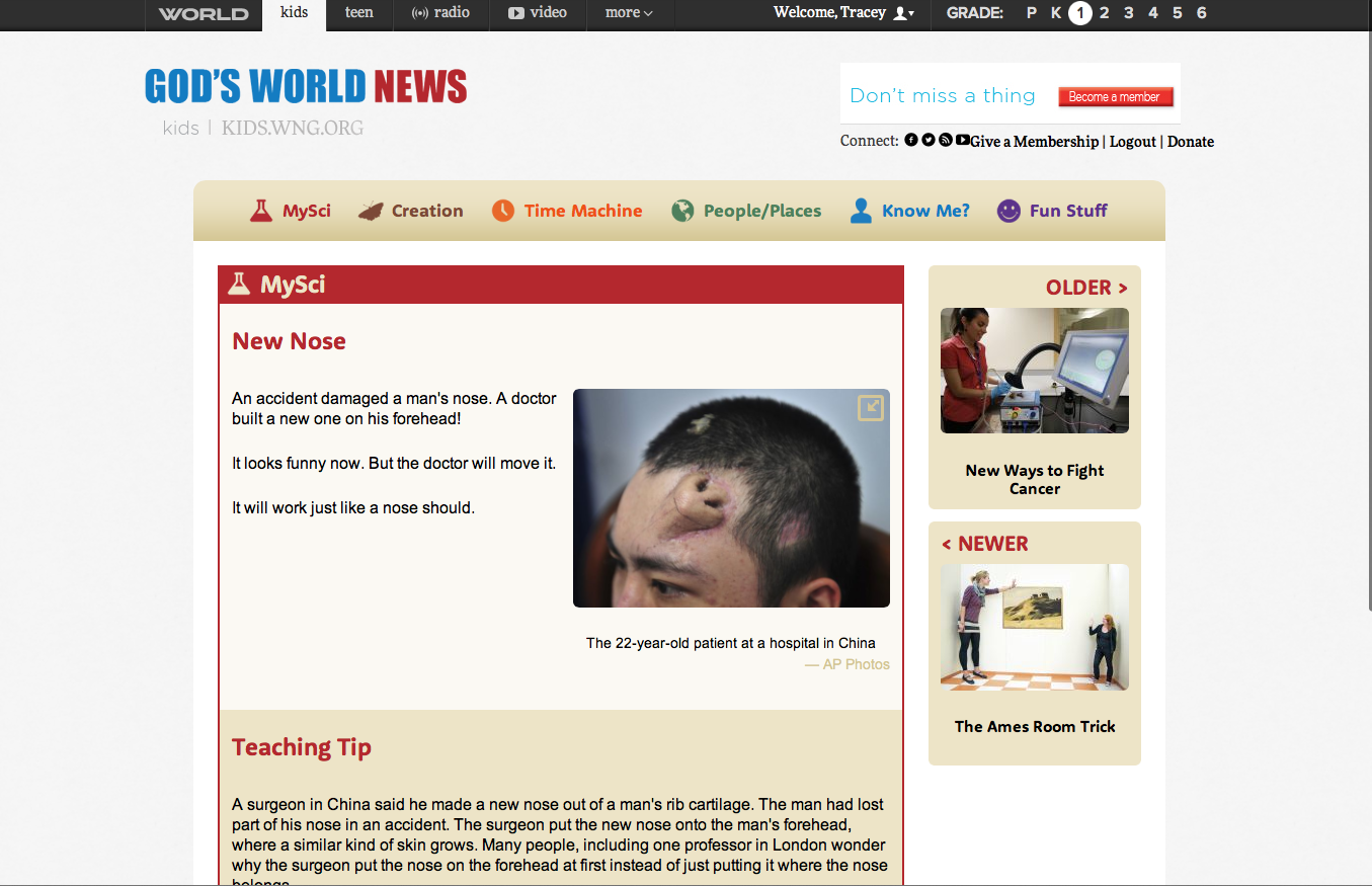 A Learning Journey Schoolhouse Review God S World News