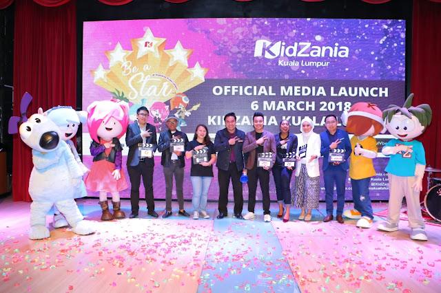 """Pencarian Bakat """"Be A Star"""" Di KidZania Kuala Lumpur"""
