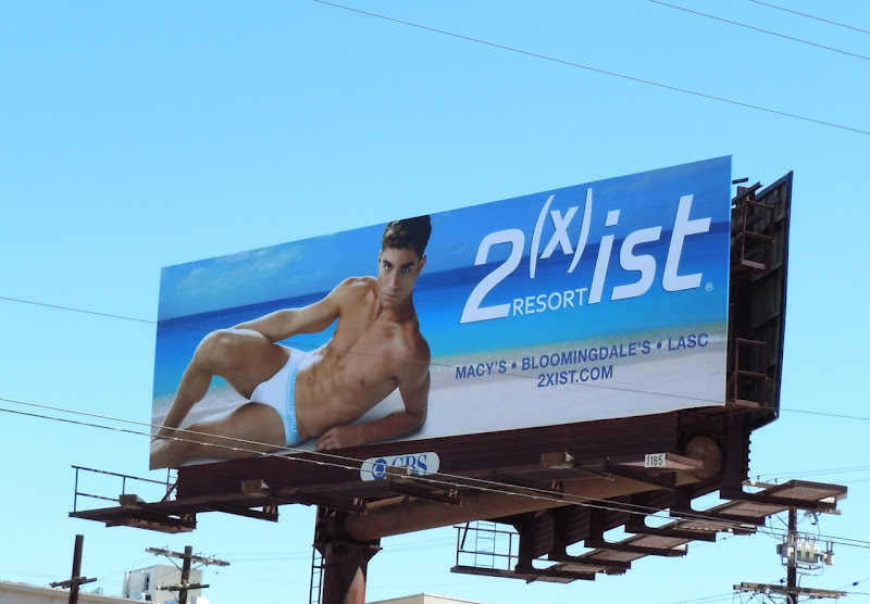 2xist Resort male underwear billboard