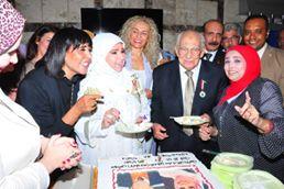 """تكريم سفراء الفن الأصيل """"مديحة حمدى ..رشوان توفيق"""" فى عطاء بلا حدود"""