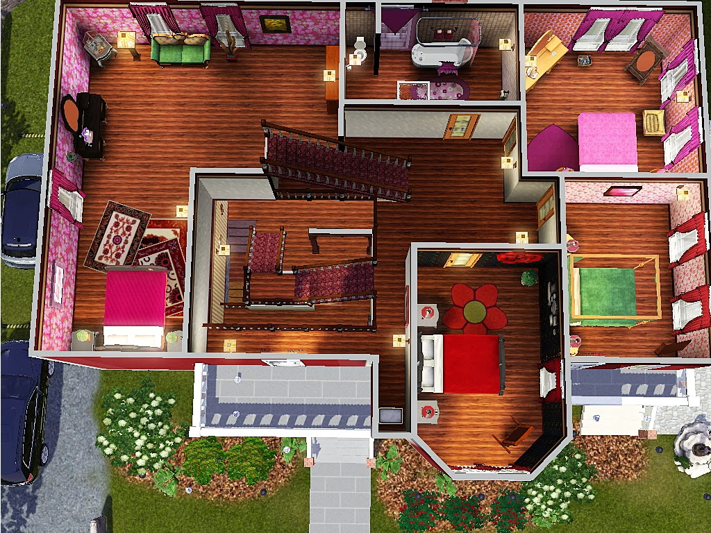Sims And Just Stuff Halliwell Manor From Charmed Squarepeg