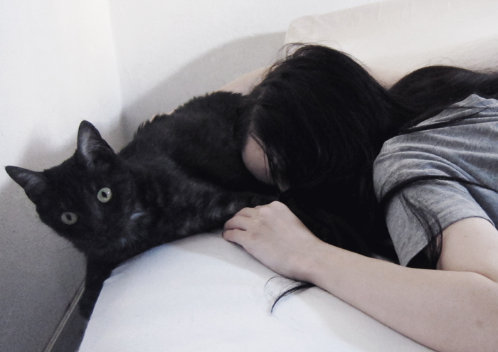 dark, gothic, goth, black, cat, blogger, argentina, jenn potter