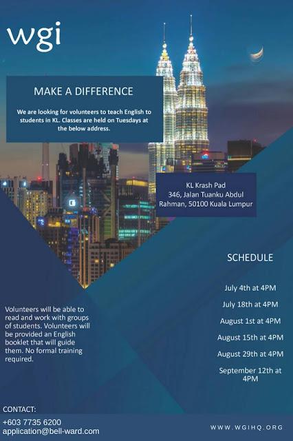 Wilson Global Initiative Kuala Lumpur, KL Krash Pad,