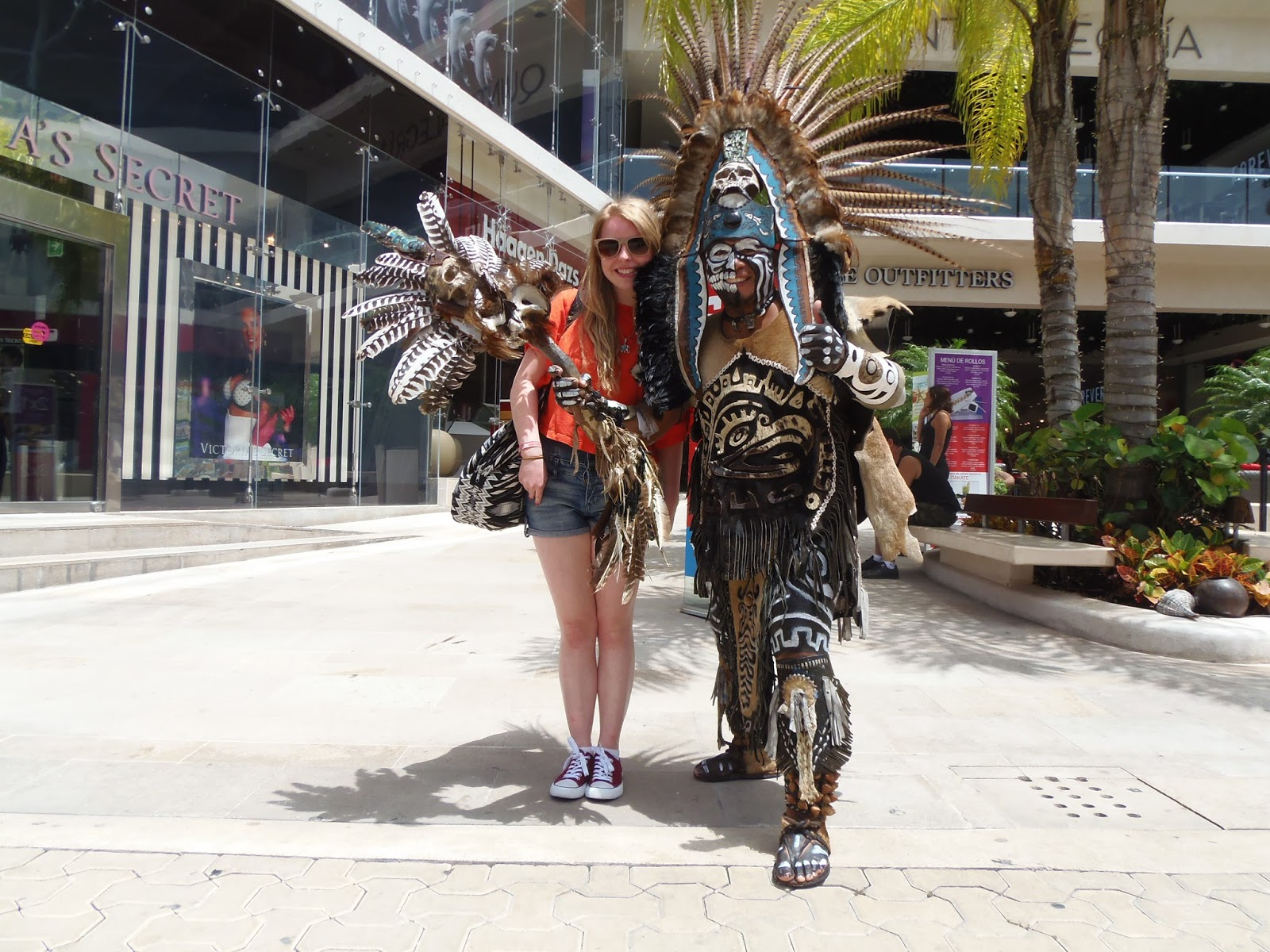 travel, holiday, mexico, maya, mayan, aztec, ruin, playa del carmen, 5th ave, fifth avenue,