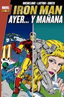 MARVEL GOLD. IRON MAN AYER… Y MAÑANA.